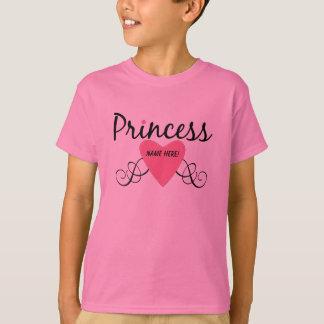 Addieren Sie Ihre Namensprinzessin T-shirt