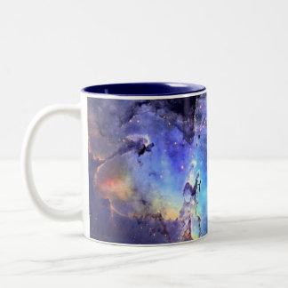 Adler-Nebelfleck 11 Unze Zwei-Ton Tasse