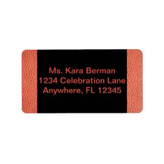 Adressen-Etikett für Band-Sammlung Adressaufkleber
