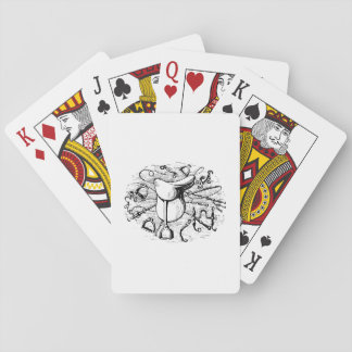 Adrette Spielkarten