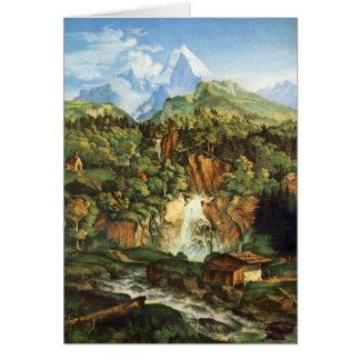 Adrian Ludwig Richter - das Watzmann Karte