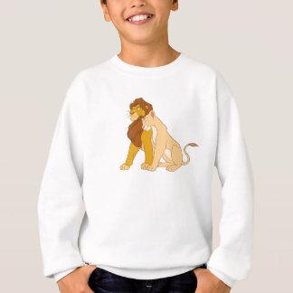 Adult Simba Löwe-Königs und Nala Disney Sweatshirt
