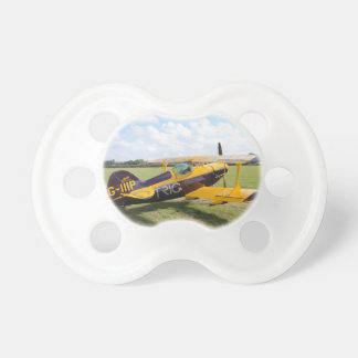 Aerobatic Doppeldecker auf The Field Baby Schnuller