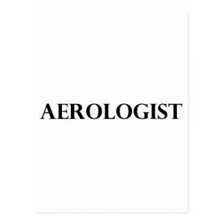 Aerologist Postkarte
