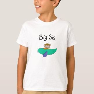 Affe-große Schwester T-Shirt