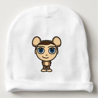 Affe-Jungen-Baumwollbabybeanie-Hut Babymütze