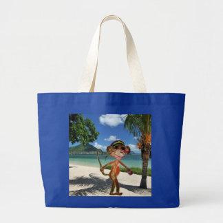 Affe-Strand-Handtasche