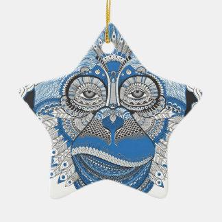 Affe - universell keramik Stern-Ornament