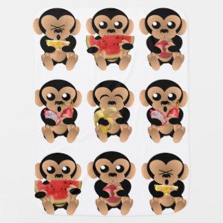 Affen Kinderwagendecke