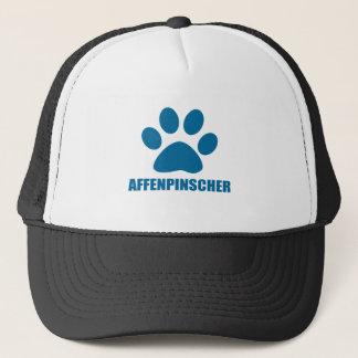 AFFENPINSCHER-HUNDEentwürfe Truckerkappe