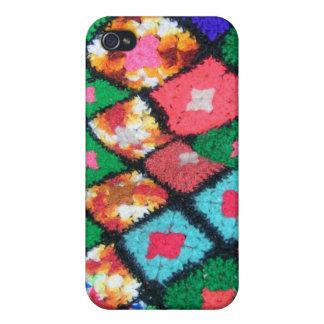 Afghanisches Mehrfarben iPhone 4 Hüllen