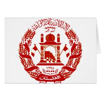 Afghanistan-Emblem Karte