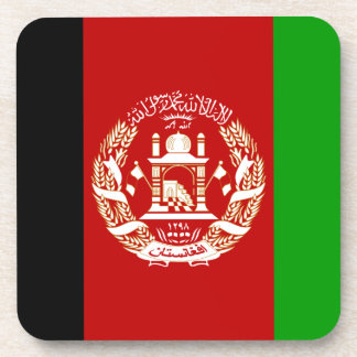Afghanistan-Flagge Drink Untersetzer