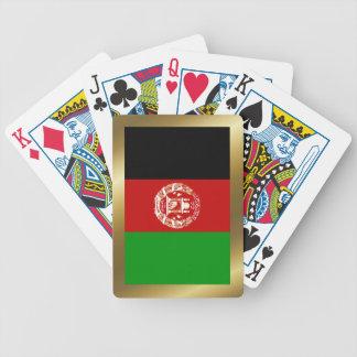 Afghanistan-Flaggen-Spielkarten Bicycle Spielkarten