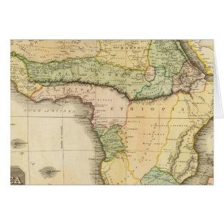 Afrika 23 grußkarte