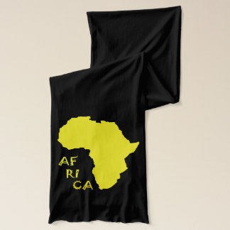 Afrika-Karten-flippiger stilvoller weicher Schal