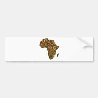 Afrika-Leopard Autoaufkleber
