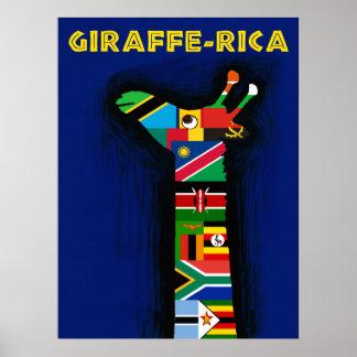 Afrika-Reiseplakat Poster