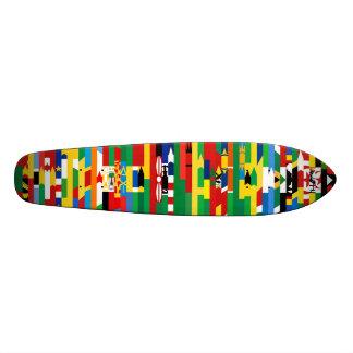 Afrikaner kennzeichnet Skateboard Bedrucktes Skateboard