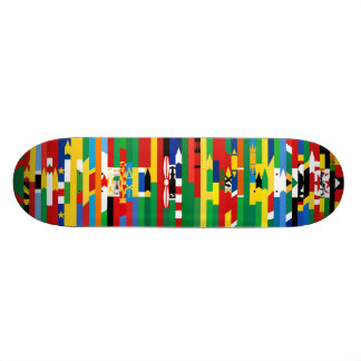 Afrikaner kennzeichnet Skateboard Skateboard Deck