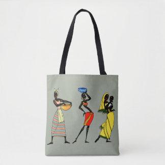 Afrikanische Frauenillustration
