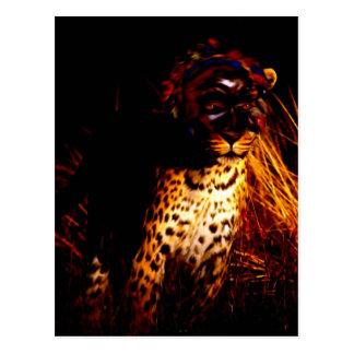 """""""Afrikanische Königin der Nacht"""" Produkte Postkarte"""