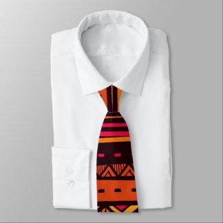 Afrikanische Stammes- Musterspaß-Krawatte Bedruckte Krawatte