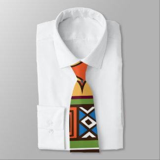 Afrikanische Stammes- patternfun Krawatte