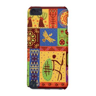 Afrikanischer Art-Fall iPod Touch 5G Hülle