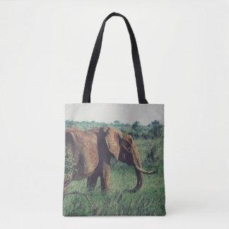 Afrikanischer Elefant-Taschen-Tasche