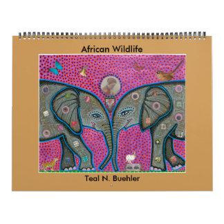 Afrikanischer Tier-Kalender Kalender