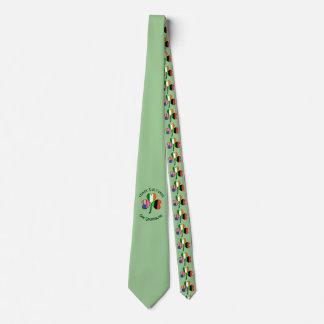 Afrikanisches amerikanische Flaggen-Kleeblatt Krawatte