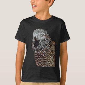 Afrikanisches Grau-Papagei T-Shirt