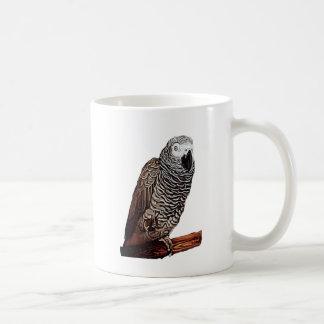 Afrikanisches Grau-Papagei Tasse