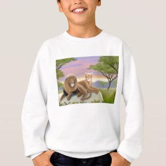 Afrikanisches Löwe-KinderSweatshirt Sweatshirt