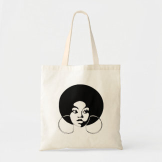 Afro-Diva-Budget-Tasche Tragetasche
