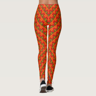 Afro-Pop Oberste Caliente Gamaschen Leggings