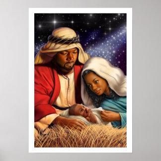Afroamerikaner-heilige Poster