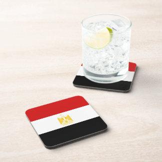 Ägypten-Flaggen-Untersetzer Getränkeuntersetzer