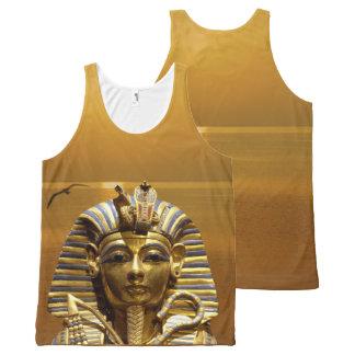 Ägypten-König Tut Komplett Bedrucktes Tanktop