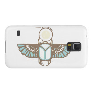 Ägypter Winged Scarabäus Samsung S5 Cover