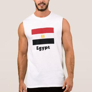 Ägyptische Flagge Ärmelloses Shirt
