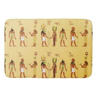 Ägyptische Götter und Göttinnen Badematte