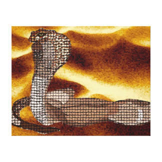 Ägyptische Kobra Leinwanddrucke