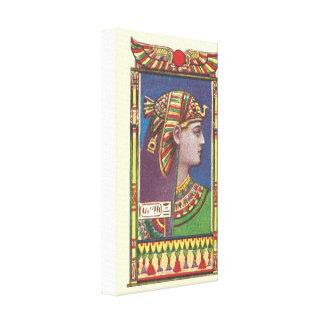 Ägyptische Leinwand der Königin-Amenophis Leinwand Drucke