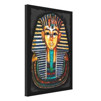 Ägyptische Pharao Tutankhamen Kunst-Studie Galerie Gefaltete Leinwand