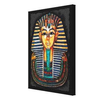 Ägyptische Pharao Tutankhamen Kunst-Studie Gespannte Galeriedrucke