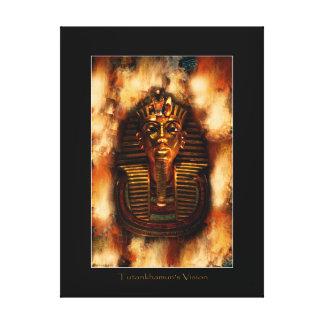 Ägyptische Pharao Tutankhamen Kunst-Studie II Gespannter Galerie Druck