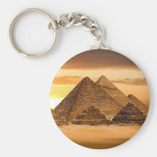 Ägyptische Pyramiden Schlüsselanhänger