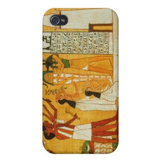 Ägyptischer Speck-Kasten iPhone 4 Schutzhüllen